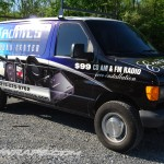 Erietronics Ford E150 Cargo Van Wrap Philadelphia 3M Graphics Philly Retail