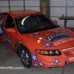 Extreme Cheerleading Pontiac Grand Prix-Car Wrap Scranton Wilkes Barre 3M Graphics