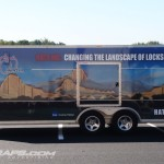 Hata Trailer Wrap V Nose Lehigh Valley Bath Lehigh Township Graphics Lettering 3M