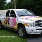 Hollywood Tans Dodge Ram Truck Wrap Turnersville Pennsauken Cherry Hill NJ