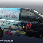 Mathnasium Franchise Dodge Caravan Wrap Graphics 3M Baltimore Rockville MD