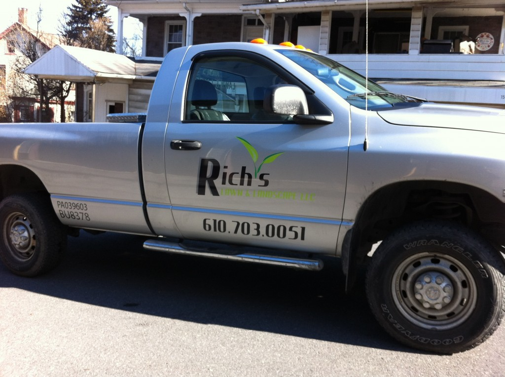 Rich's Lawn and Landscaping Dodge Truck Vehicle Graphics