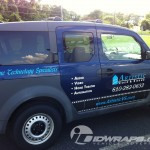 Artistic Video and Sound Honda Element Vehicle Graphics Lettering Quakertown Allentown 3M