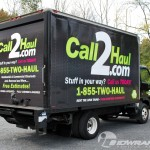 Call2Haul Isuzu NPR Box Truck 3M Cube Wrap PA NJ