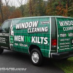 Men in Kilts Ford E250 3M Van Wrap Franchise