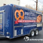 Pretzel Revolution Concession Vendor 3M Trailer Wrap Kutztown