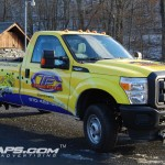 Trans Fleet Concrete Contractor Ford F250 3M Truck Wrap Philly