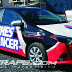 2014 Toyota Scranton Corolla Coaches Cancer Vinyl Car Wrap
