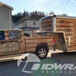 EZ Mountain Rustic Furniture Delivery 3M Vinyl Gooseneck Trailer Truck Wrap IDWraps