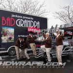 Shopper Chopper Bad Grandpa Trailer NYC 3M Vinyl MCS Trailer Wrap