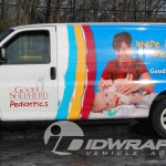 Good Shepherd Pediatrics Chevy Express Cargo 3M Vinyl Wrap Allentown Health Care PA