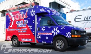 Boxtruck Van 3M Vinyl Vehicle Wrap