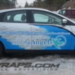 Visiting Angels South Shore MA 2014 Ford Focus 1-2 Wrap