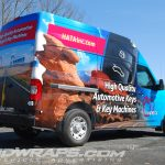 Hata 2015 Nissan NV 2500 High Top Full 3M Vinyl Wrap