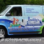 Buddys Pet Resort Chevy Astro Van 3M Vinyl Wrap