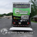 15-6 Tom Morrissey TV Appliance Isuzu NPR Cube Van 3M Vinyl Wrap Taigate Down