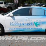 Visiting Angels Wilmington Toyota Camry 3M Vinyl 3-4 Wrap