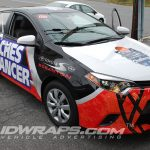 Toyota of Scranton Coaches For Cancer Corolla 3M Vinyl Graphic Wrap