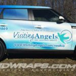Visiting Angels Mentor OH 16 Kia Soul 3M Vinyl Graphic Wrap