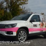 VIP Vacations Travel Agency VW Toureg 3M Vinyl Graphic Wrap
