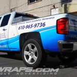 Burkholders Chevy Silverado Partial 3M Vinyl Graphic Wrap
