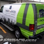G1 Services Boston Ford E250 3M Vinyl Graphic Wrap