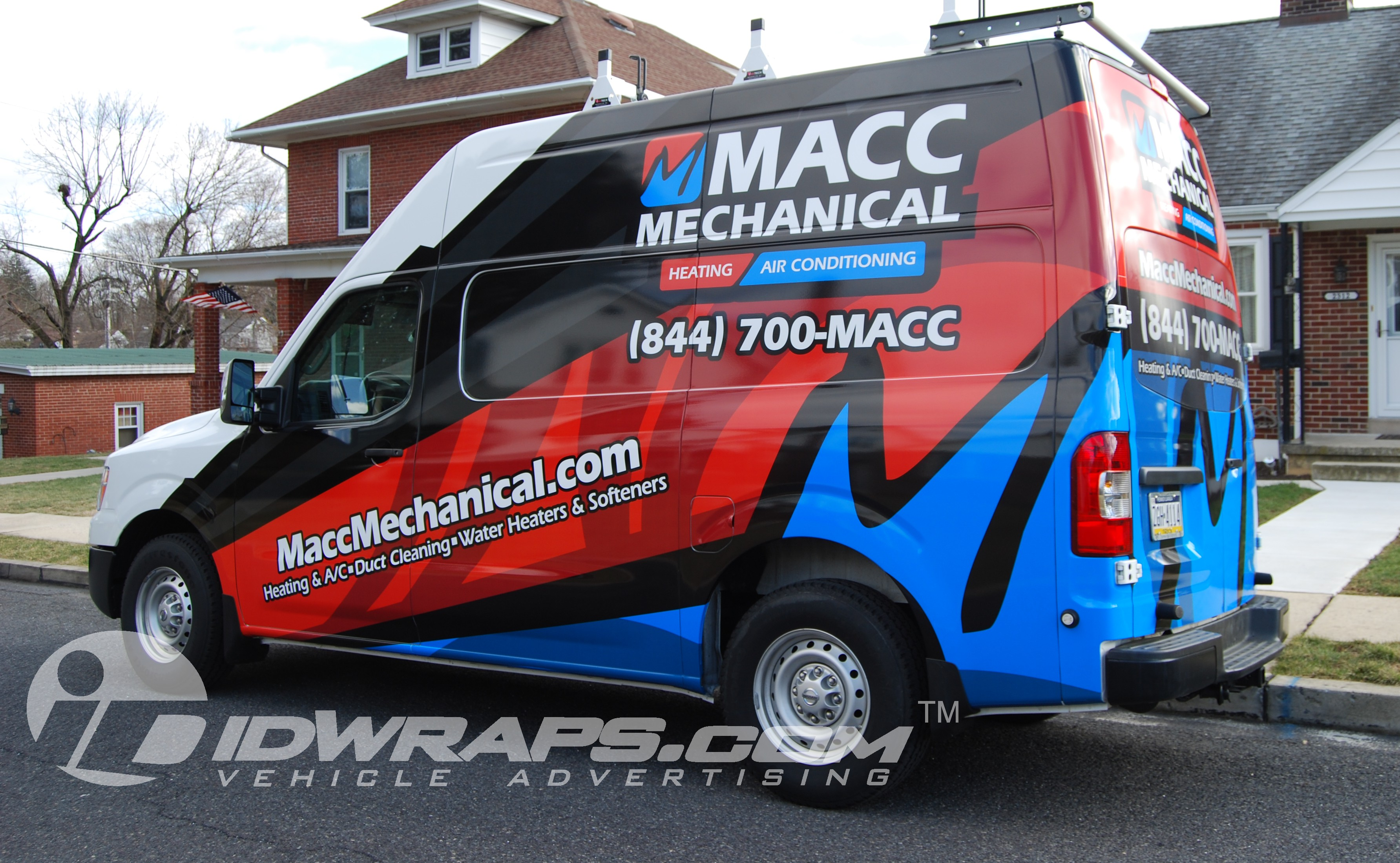 Nissan NV Wrap for Macc Mechanical