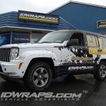 Radio Station Wrap Cat Country Jeep Liberty 3M Vinyl Graphics