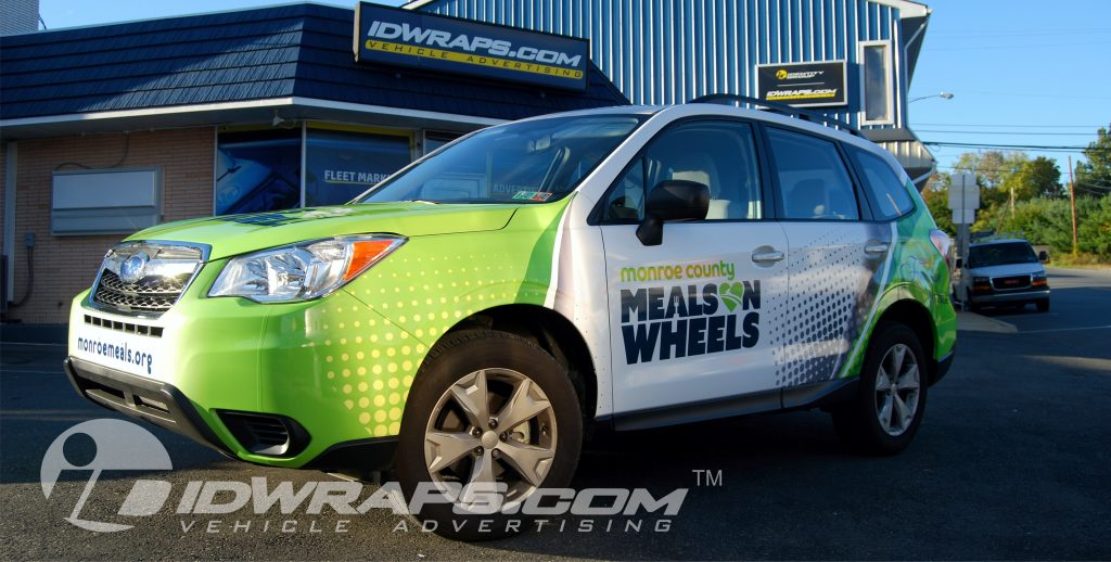 Meals on Wheels Subaru Forester Wrap