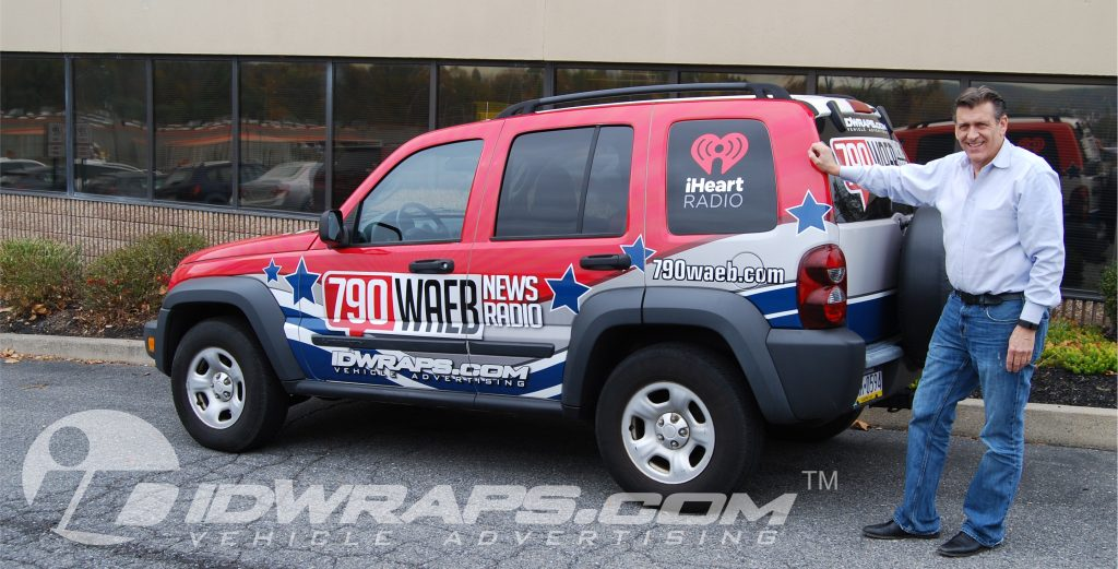 Full 3M Jeep Liberty Wrap