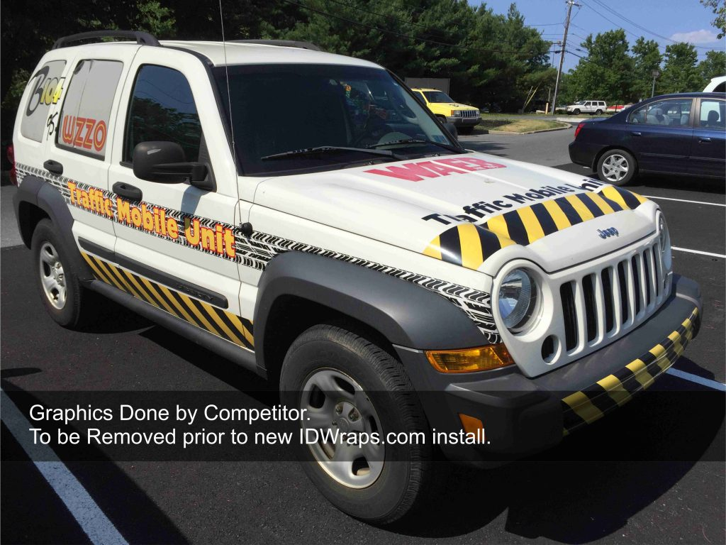 Before Jeep Liberty Wrap Pic