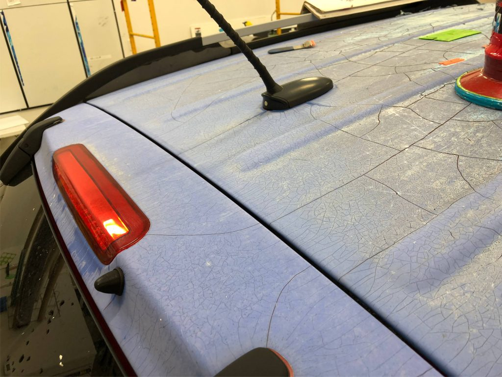 techniques for old car wrap removal