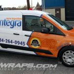 18-2-26 Integra Inspections 15 Ford Transit Connect Vinyl Wrapping