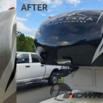 3M 1080 Camper Wrap RV Before-After