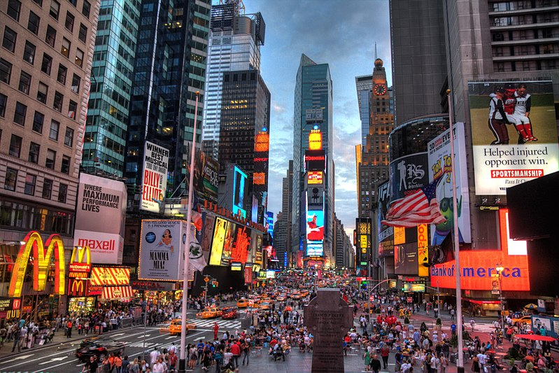 This image features Times Square in New York City. Once the epicenter for Out of Home advertising, how will COVID-19 shape its future?