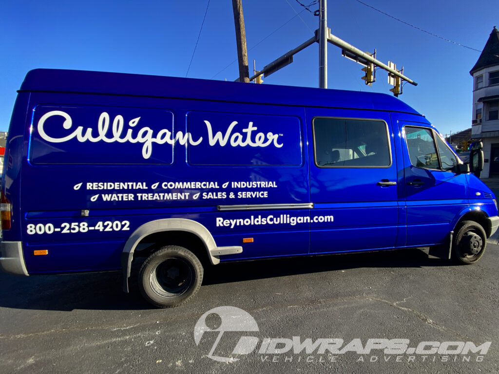 Commercial color change for Culligan Water