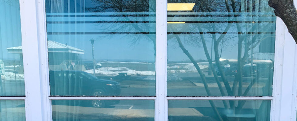 Frosted Window Film Installation
