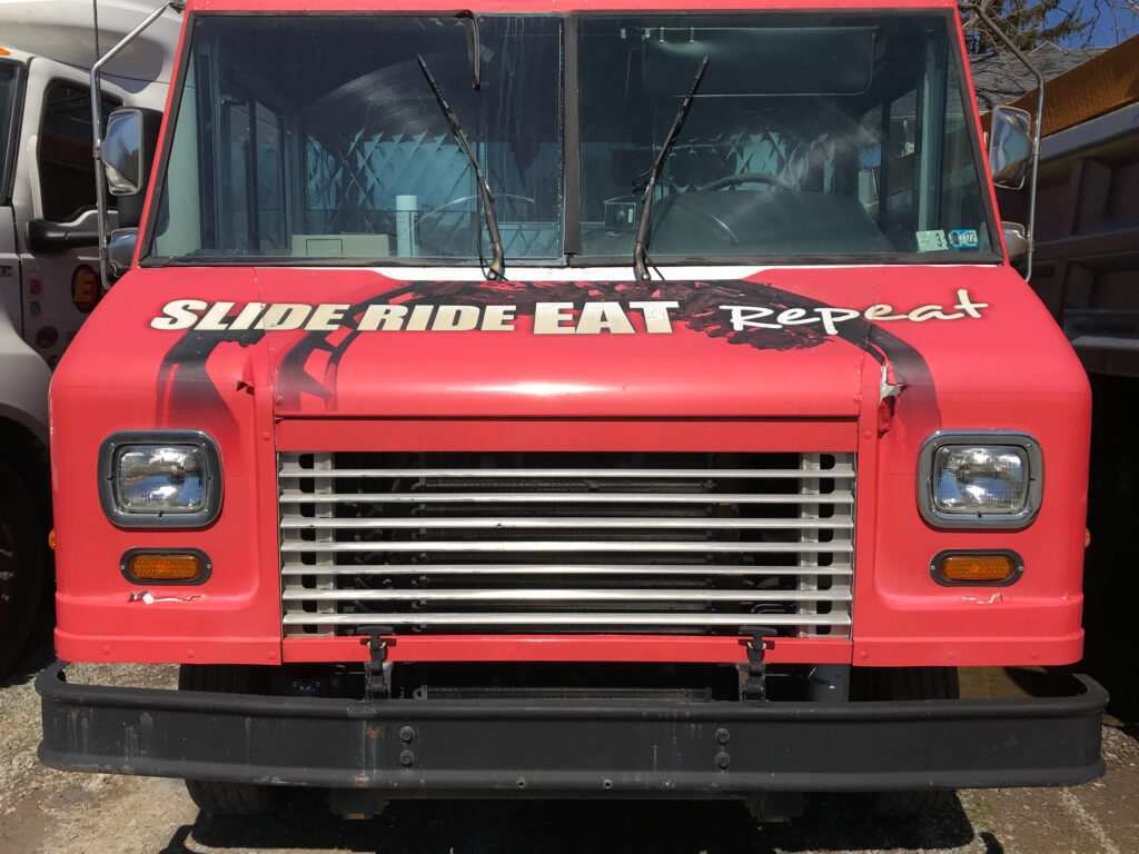 Old Wrap on the Dorney Park Food Truck