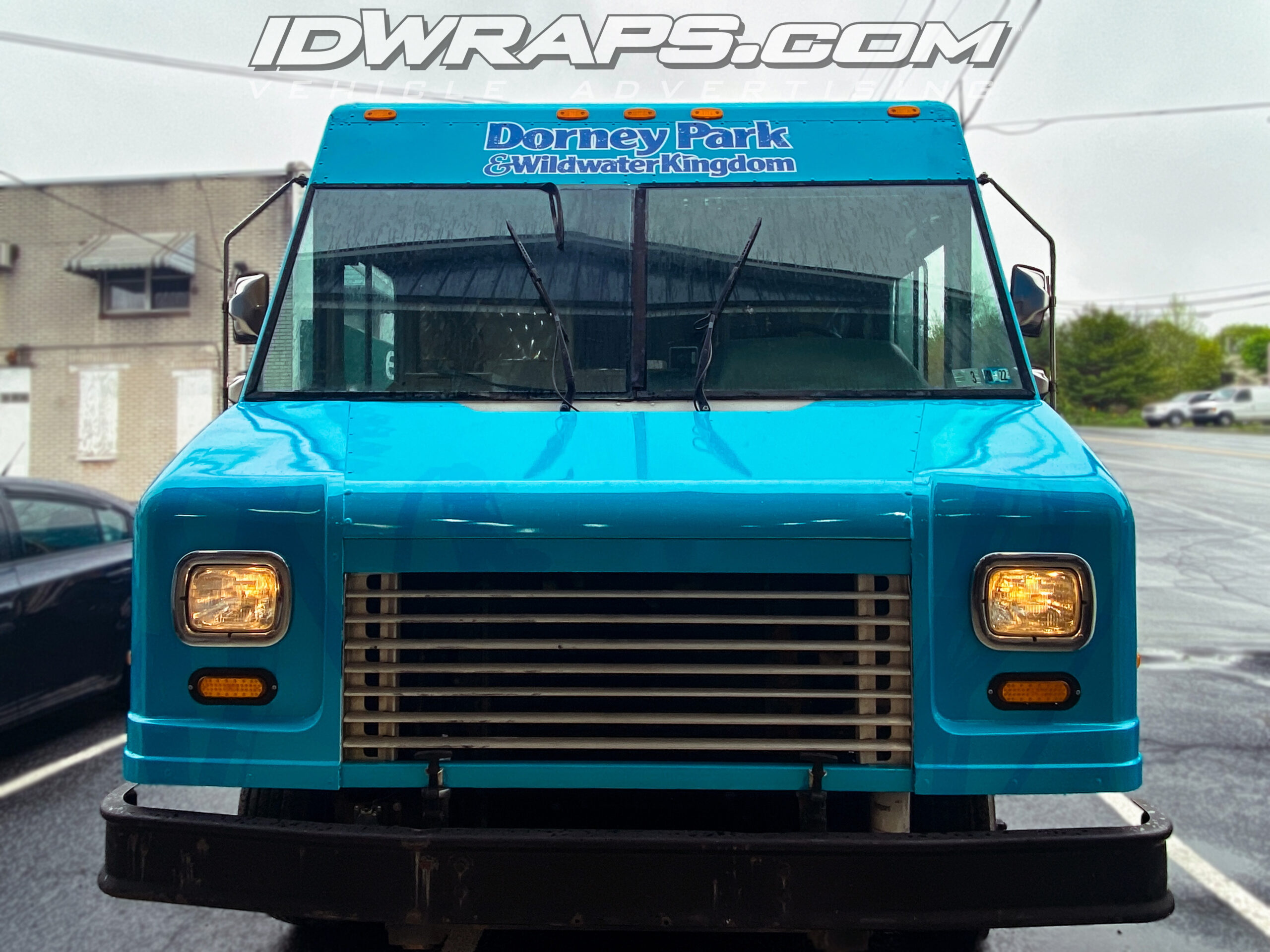 Front of the updated Dorney Park Food Truck